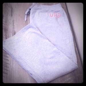 Womens Grey Gap Sweat Pants XXL